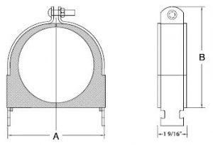 cushion clamp model stcc